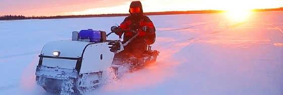 Рыбалка в палатке на Белом море с комфортом
