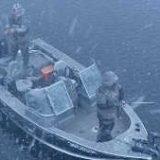 Зимняя рыбалка с лодки: Десногорское водохранилище