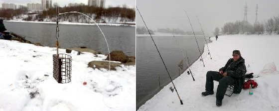 Зимняя ловля ПЛОТВЫ на ФИДЕР