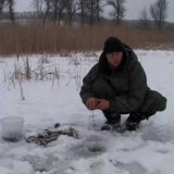 Ловля окуня со льда в Глухозимье