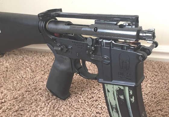 AR-15 со стволом от Вепря