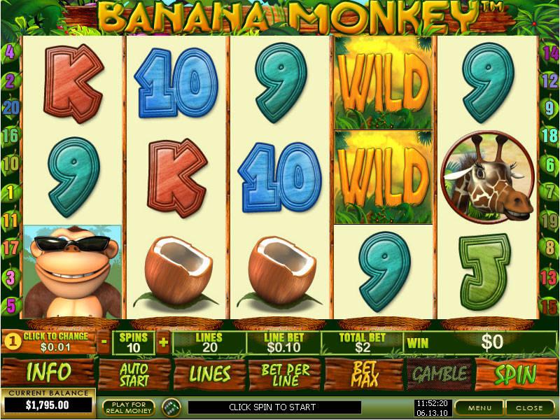 Игровой автомат Banana Monkey