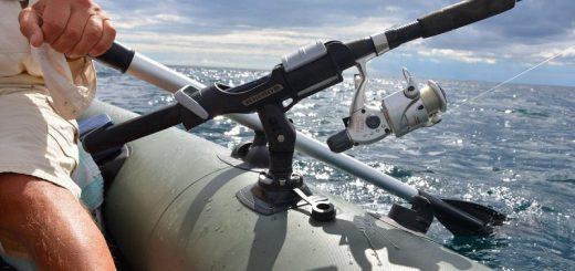 Как выбрать держатель для спиннинга для лодки?