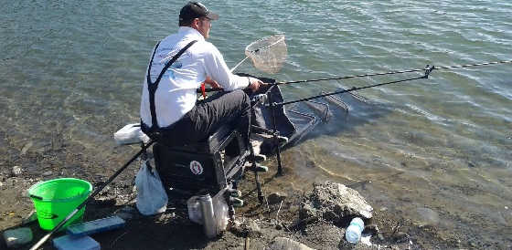 Рыбалка на фидер в городе