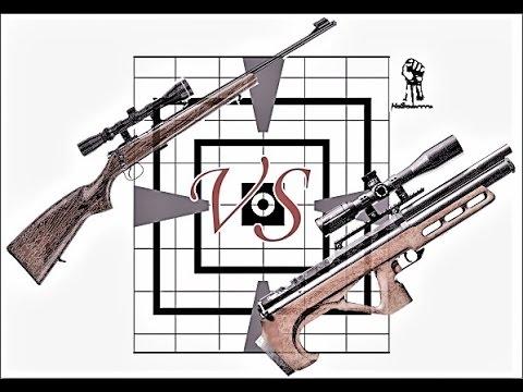 ПСП винтовка VS Мелкашка 22LR