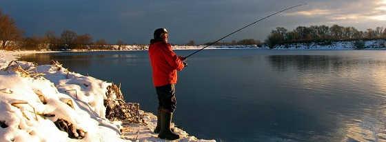 Рыбалка на Москва-реке в ГЛУХОЗИМЬЕ