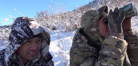 Горная охота на сибирскую косулю в Алматинской области