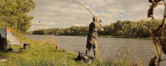Осенняя рыбалка с ночёвкой