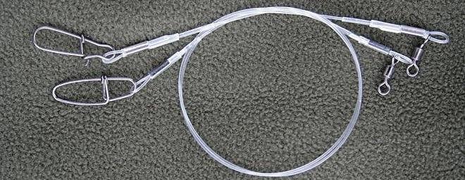 Поводки флуорокарбоновые и металлические: Как выбрать длину