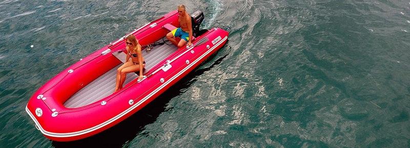 Оптимальная резиновая лодка для морских прогулок