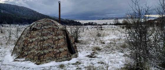 Обзор зимней палатки УП 2 Алтай