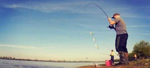 Небольшая вечерняя рыбалка на реке Волга