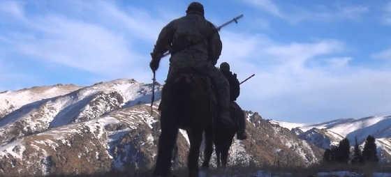 Охота на волка в горах Дагестана