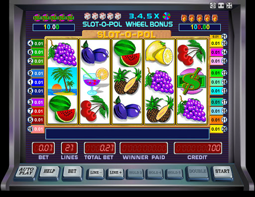 Игровой автомат Slot-O-Pol Deluxe в казино Вулкан Рояль