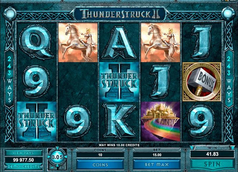 Слот Thunderstruck 2