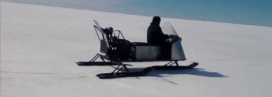 Аэросани с Двигателем ВАЗ