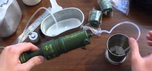 ФИЛЬТР для очистки воды при выживании