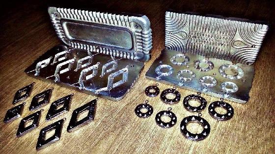 Самодельные формы методом литья для изготовления любых свинцовых грузил