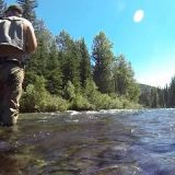 Рыбалка на хариуса в горах Алтая