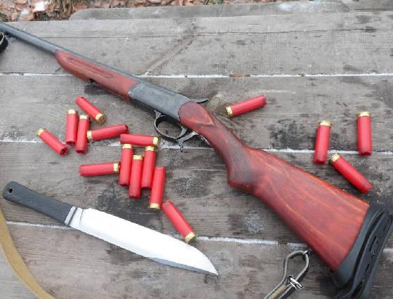 Дульнозарядное оружие ИЖ-17
