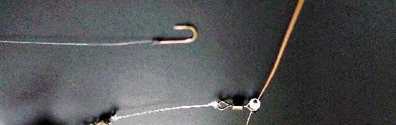 Монтаж инлайн на плетенном шнуре