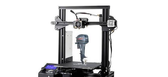 запчасти на 3D принтере для лодочного мотора