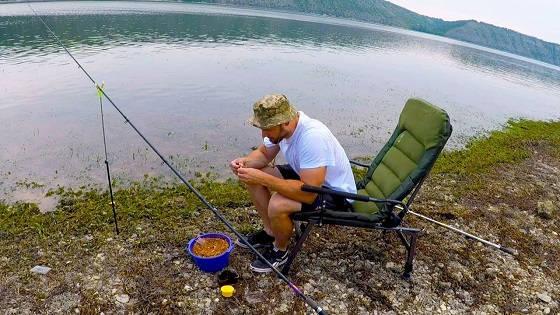 Рыбалка с Ночёвкой за Лещом