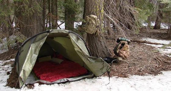 Как обогреть палатку без печки