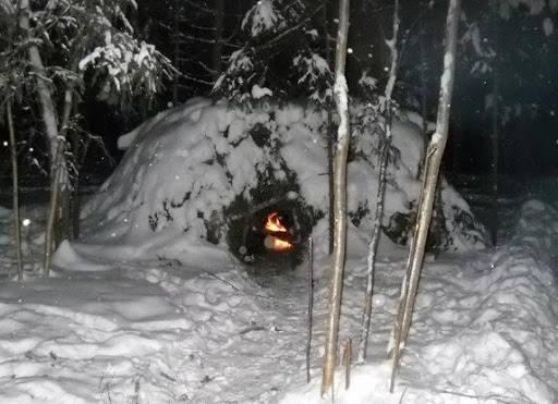 Как сделать лыжи в тайге в экстремальных условиях