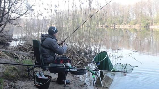 Весенняя рыбалка с фидером в Беларуси