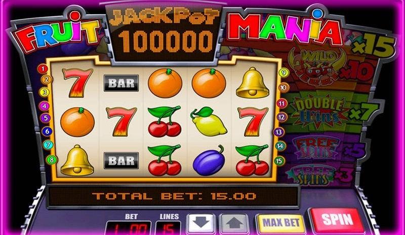 Игровой автомат Fruito Mania