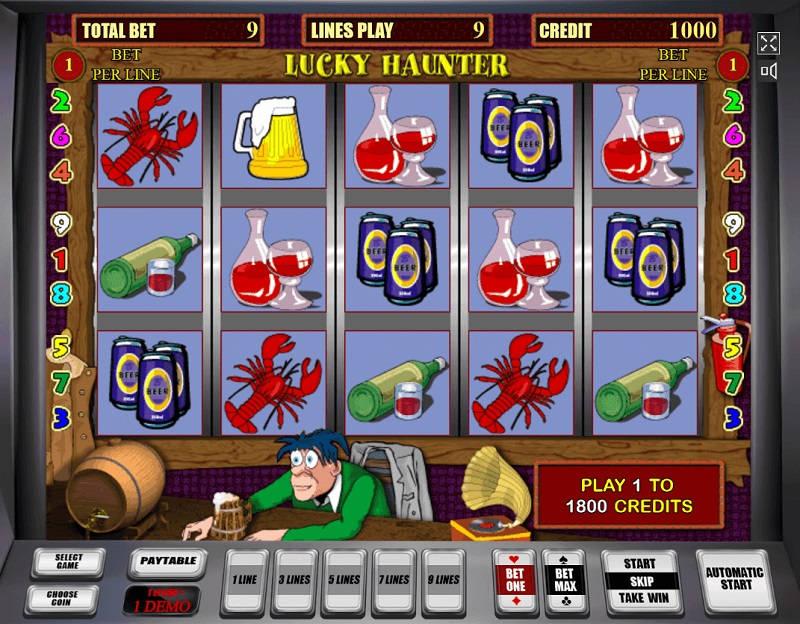Игровой слот Luck Haunter