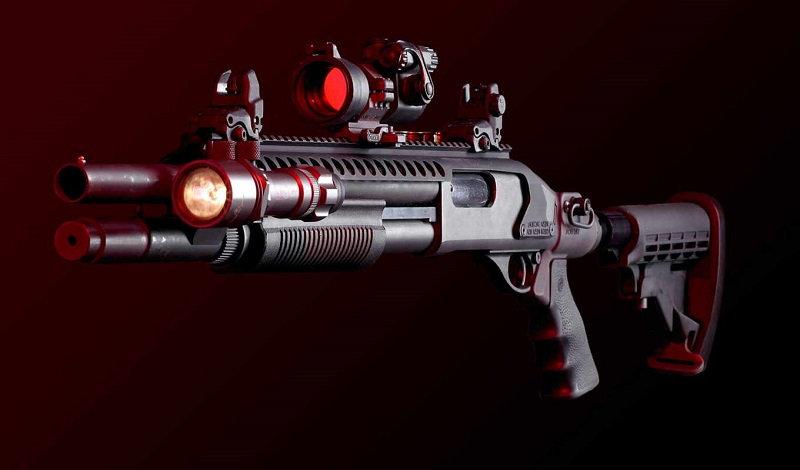 Тактический фонарь для ружья