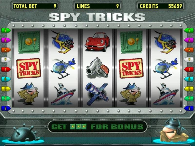 Игровой автомат spy tricks играть бесплатно какие игровые автоматы дают выигрыш и быстро выплачивают их в интернете