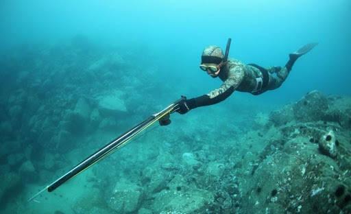 Выбор маски и трубки для подводной охоты