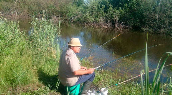 Ловля на ПОПЛАВОК в Беларуси