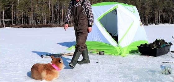 Рыбалка с двумя ночёвками в палатке с печкой