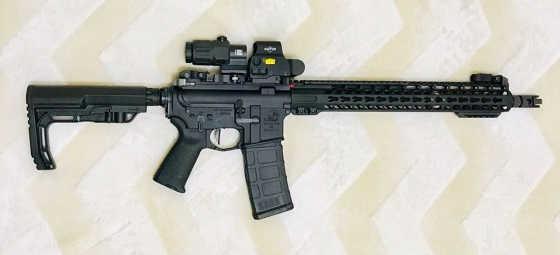 Как пристрелять AR-15 на 100 метров