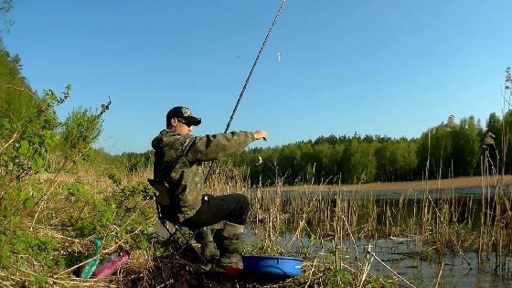 рыбалка на карася в сильный ветер на поплавок