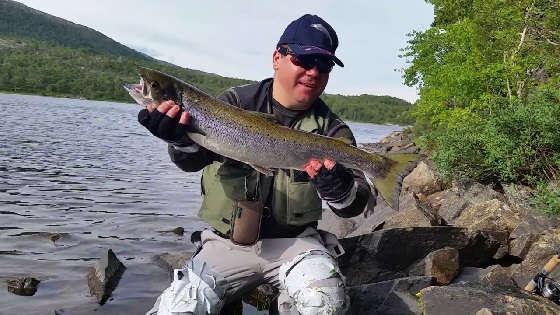 Тактика ловли норвежского лосося