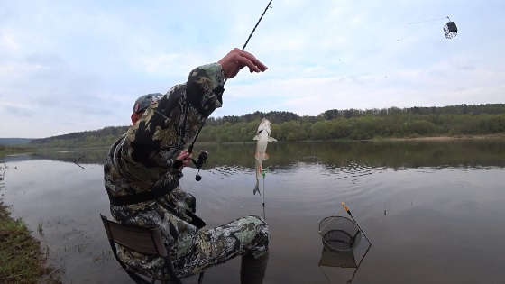 Рыбалка на Оке в Мае 2020