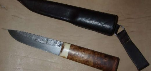 нож по мотивам Паренского