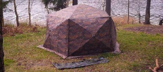 Палатка Пентагон для кемпинга