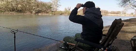Быстрый способ поиска точки для ловли фидером на реке