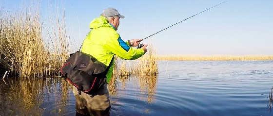 Рыбалка на МикроДжиг и Отводной с берега