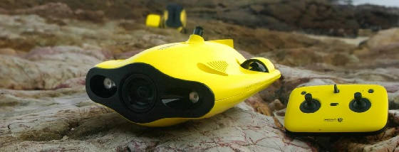 Знакомство с подводным дроном Gladius Mini