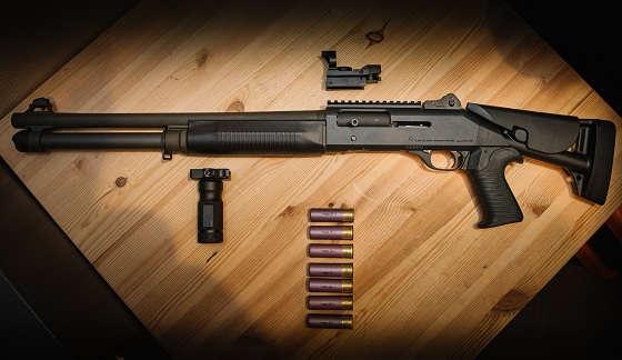 Чистка помпового ружья 12 калибра
