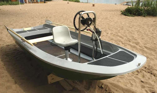 алюминиевая лодка своими руками