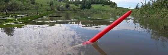 Рыбалка на утренней зорьке на маховую удочку