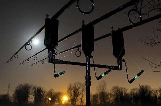 Ночная рыбалка на КАРПА
